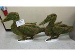 Lot: 40-008 - Moss Covered Geese