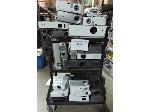 Lot: 40-016 - (21) Projectors for Repair w/ Cart