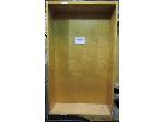 Lot: 40-059 - (2) Wooden Shelf Units