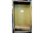Lot: 40-061 - (2) Wooden Shelf Units