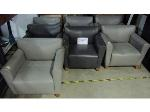 Lot: 40-062 - (7) Leather Chairs