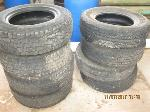 Lot: 1 - (4) 17-inch Tires