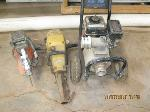 Lot: 2 - Trash Pump, Concrete Saw, Hammer