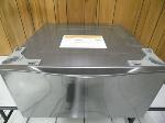 Lot: A6354 - LG Stainless Steel Laundry Pedestal Drawer