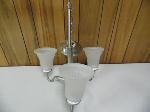 Lot: A6383 - Janvier Stainless Steel Hanging Light Fixture