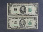 Lot: 4028 - (2) 1950D $100 NOTES