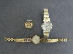 Lot: 4042 - WATCHES & 10K RING