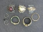 Lot: 4071 - CLASS RING, SPOON RING & 10K RINGS