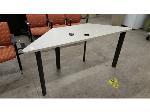 Lot: 2297 - Trapezoidal Table