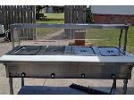 Lot: 1.EDINBURG - Electric Buffet Table