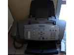 Lot: LIB1 - Fax Machine, Book Cart, PA System, Bookends, Magazine Holders