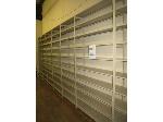 Lot: 66 - (7 Banks) of Shelving - 28' x 8'2