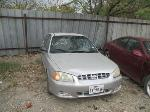 Lot: 628-325263 - 2002 HYUNDAI ACCENT