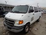 Lot: 21-47596 - 2000 Dodge Ram Van