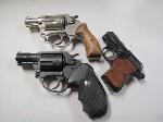 Lot: 4146 - (2) CHARTER ARMS & (1) EXCAM 25 CAL. GUNS