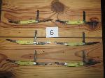 Lot: 6 - (6) Stockmans Knives
