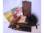 Lot: 04 - (9) Vintage Items: Scout Song Book, Casting Kit