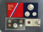 Lot: 4178 - PROOF SETS, 1876 SEATED DIME & 1905 INDIAN PENNY