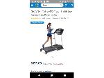 Lot: 15 - Golds Gym Treadmill