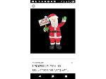 Lot: 60 - Lighted Santa