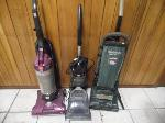 Lot: A6503 - (3) Hoover Vacuums