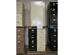 Lot: 902 - (6) ASSORTED FILE CABINETS