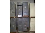 Lot: 906 - (6) ASSORTED FILE CABINETS