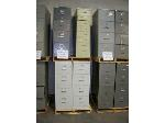 Lot: 908 - (6) ASSORTED FILE CABINETS