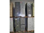Lot: 909 - (6) ASSORTED FILE CABINETS