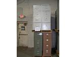 Lot: 911 - (6) ASSORTED FILE CABINETS