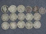 Lot: 4336 - (13) BARBER DIMES & (3) SEATED LIBERTY HALF DIMES