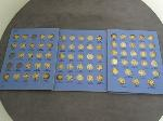 Lot: 4345 - MERCURY DIME COLLECTION BOOK