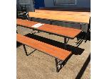 Lot: 5481 - (8) Long Lunchroom Tables