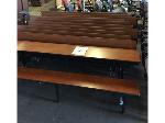 Lot: 5483 - (11) Long Lunchroom Tables