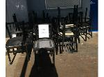 Lot: 5484 - (14) Black Chairs