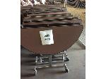 Lot: 5485 - (8) Folding Lunchroom Tables