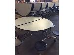 Lot: 5504 - (9) Folding Cafeteria Tables
