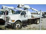 Lot: 144.FORT WORTH - 2005 TELELECT/FORD TL36P/F650SD AERIAL TRUCK
