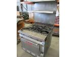 Lot: 06 - Vulcan Gas Oven w/shelf