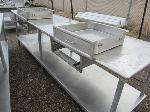 Lot: 22 - (2) Stainless Steel Tables with drawers