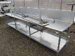 Lot: 23 - Stainless Steel Table with no drawers w/ Shelf