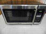 Lot: A6607 - Working Emerson Stainless Steel Microwave