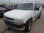 Lot: 13-119620 - 2000 Chevrolet Tahoe SUV