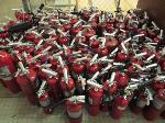 Lot: 36.PAS - NUMEROUS FIRE EXTINGUISHERS
