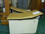 Lot: 67.HOU - (2) GYNECOLOGY EXAM TABLES AND BOX OF COOK CATH TRAYS