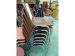 Lot: 73.HOU - (15) BROWN PLASTIC STACKABLE CHAIRS