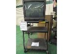 Lot: 77.HOU - GE TELEVISION ON A ROLLING CART