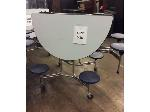 Lot: 5527 - Folding Lunchroom Tables
