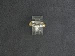 Lot: 4457 - 14K DIAMOND RING