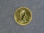 Lot: 4480 - 1983 1 OZ. GOLD CANADIAN MAPLE LEAF